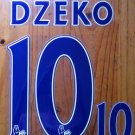 EDIN DZEKO 10 MANCHESTER CITY HOME 2013 2014 NAME NUMBER SET NAMESET PRINT