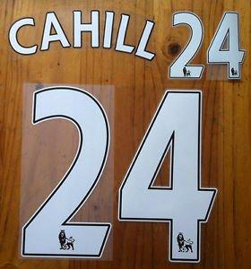 GARY CAHILL 24 CHELSEA HOME 2013 2014 NAME NUMBER SET NAMESET KIT PRINT FOOTBALL
