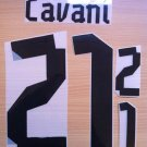 EDINSON CAVANI 21 URUGUAY HOME 2013 2014 NAME NUMBER SET NAMESET KIT PRINT