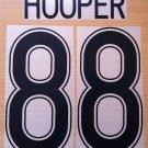 HOOPER 88 CELTIC HOME UCL 2006 2008 NAME NUMBER SET NAMESET KIT PRINT