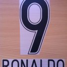 RONALDO 9 CORINTHIANS HOME 2009 2011 NAME NUMBER SET NAMESET KIT PRINT
