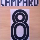 LAMPARD 8 CHELSEA AWAY UCL 2004 2006 NAME NUMBER SET NAMESET KIT PRINT
