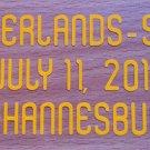 MATCH DETAILS NETHERLANDS VS SPAIN JULY 11 WC 2010 PRINT