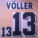 VOLLER 13 GERMANY HOME WORLD CUP1994 NAME NUMBER SET NAMESET KIT PRINT NUMBERING