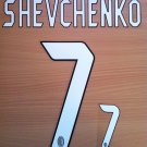 ANDRIY SHEVCHENKO 7 MILAN 2004 2007 NAME NUMBER SET NAMESET KIT PRINT NUMBERING