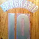 BERGKAMP 10 ARSENAL HOME UCL 2005 2006 NAME NUMBER SET NAMESET KIT PRINT