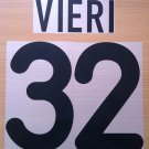 VIERI 32 INTER AWAY 2000 2001 NAME NUMBER SET NAMESET KIT PRINT NUMBERING