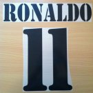 RONALDO 11 REAL MADRID HOME 2001 2002 NAME NUMBER SET NAMESET KIT PRINT