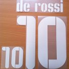 DE ROSSI 10 ITALY HOME CONFEDERATIONS CUP 2009 NAME NUMBER SET NAMESET KIT PRINT