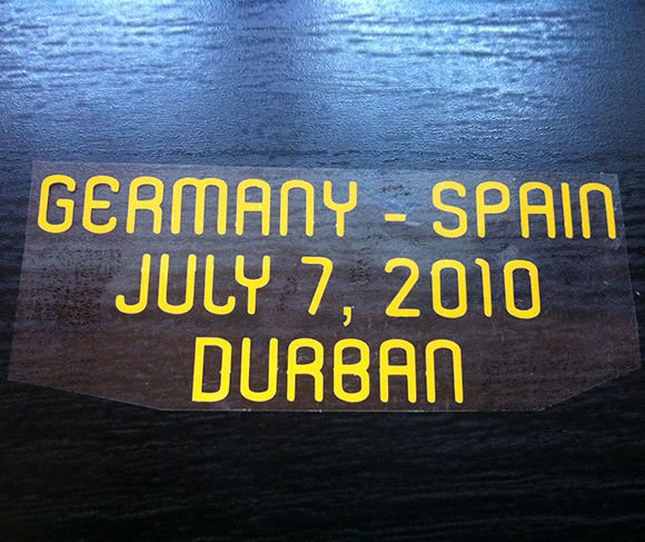 MATCH DETAILS GERMANY VS SPAIN JULY 7 WORLD CUP SOUTH AFRICA 2010 PRINT
