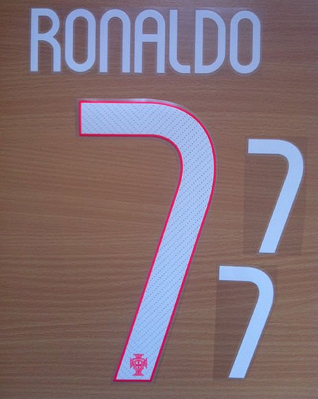 RONALDO 7 PORTUGAL KIDS HOME 2014 2015 NAME NUMBER SET NAMESET KIT PRINT CR7