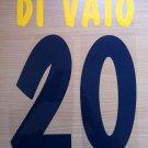DI VAIO 20 PARMA HOME 2001 2002 NAME NUMBER SET NAMESET KIT PRINT NUMBERING