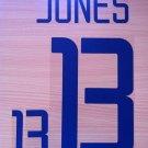 JERMAINE JONES 13 UNITED STATES HOME WC 2002 NAME NUMBER SET NAMESET KIT PRINT