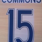COMMONS 15 CELTIC HOME UCL 2011 NAME NUMBER SET NAMESET KIT PRINT NUMBERING