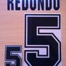 REDONDO 5 ARGENTINA HOME WORLD CUP 1994 NAME NUMBER SET NAMESET KIT PRINT