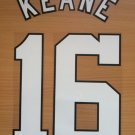 ROY KEANE 16 MANCHESTER UNITED HOME 1996 1997 NAME NUMBER SET NAMESET PRINT