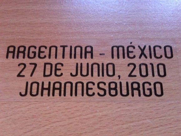 MATCH DETAILS ARGENTINA VS MEXICO MEJICO 27 JUNE WORLD CUP 2010 PRINT