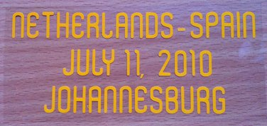 MATCH DETAILS NETHERLANDS VS SPAIN JULY 11 WORLD CUP SOUTH AFRICA 2010 PRINT