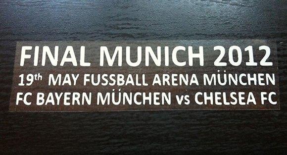 MATCH DETAILS FC BAYERN MUNCHEN VS CHELSEA FC FINAL MUNICH 2012 CHAMPIONS LEAGUE