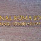 MATCH DETAILS BARCELONA VS MANCHESTER UNITED FINAL ROMA 2009 CHAMPIONS LEAGUE