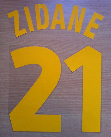 FERRARA 2 JUVENTUS AWAY 1998 1999 NAME NUMBER SET NAMESET KIT PRINT NUMBERING