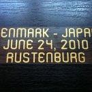 MATCH DETAILS DENMARK VS JAPAN JUNE 24 WORLD CUP 2010 PRINT GOLD