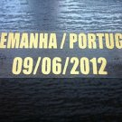 MATCH DETAILS DEUTSCHLAND GERMANY VS PORTUGAL 09 JULY EURO CUP 2012 PRINT