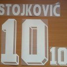 DRAGAN STOJKOVIC 10 YUGOSLAVIA HOME WORLD CUP 1994 NAME NUMBER SET NAMESET PRINT
