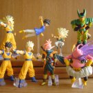 F/S Rare New Dragon Ball Z Gacyapon Series #17 x8 Figures Full complete Capsule
