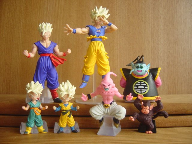 F/S Rare New Dragon Ball Z Gacyapon Series #19 x6 Figures Full complete Capsule