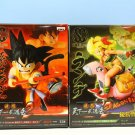 F/S New BANPRESTO FIGURE COLOSSEUM DRAGONBALL FIGURE SCultures Son-Goku & Runch Figure