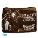 F/S NEW Dragon Ball - Sepia fleece blanket (Goku Super Saiyan 3)