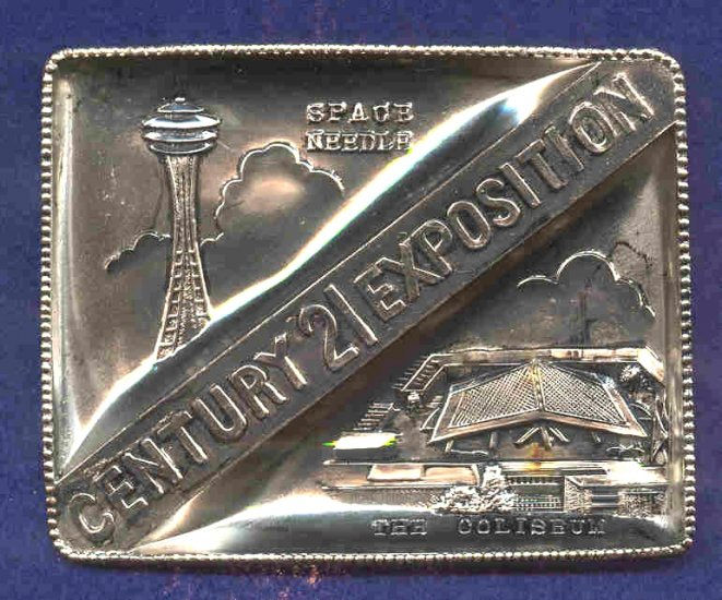 Seattle Space Needle Century 21 Expo FREE SHIP  10500