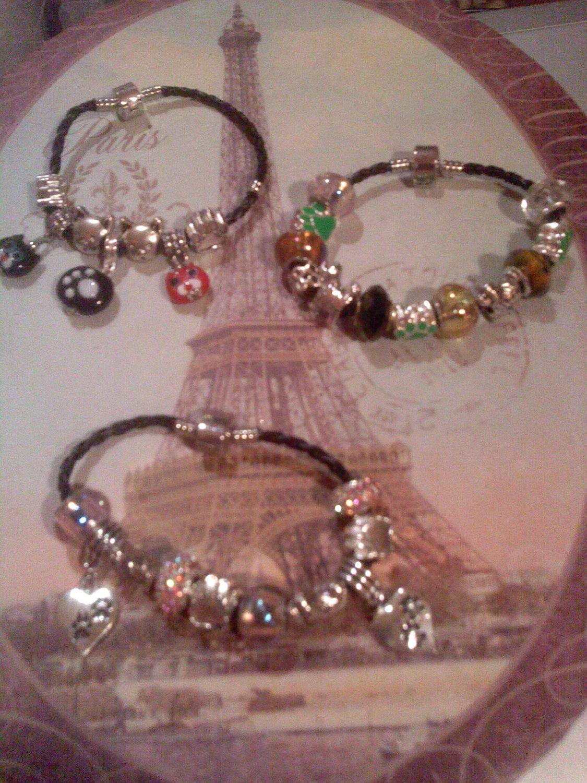 Doggies euro beads bracelets
