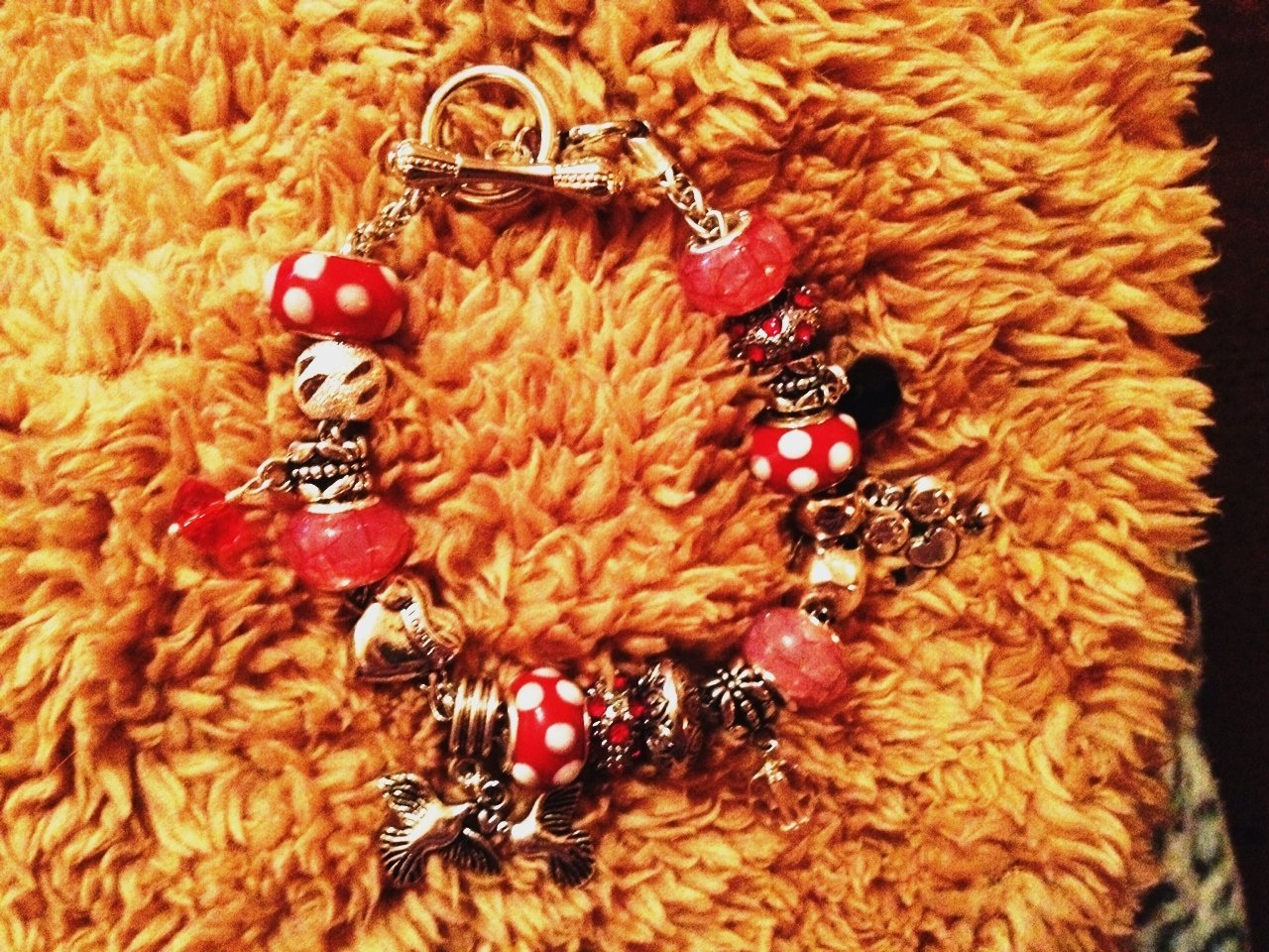 My toggle valentine euro bracelet