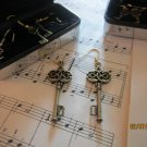 Choice of key earrings - BMGM!