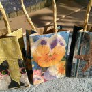 Choice of handmade mini gift bags