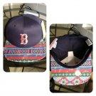 Boston Red Sox Navajo (Navy) Custom SnapBack