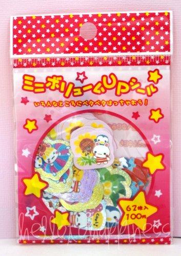 Crux Paradise Bunnies sticker sack, rare kawaii