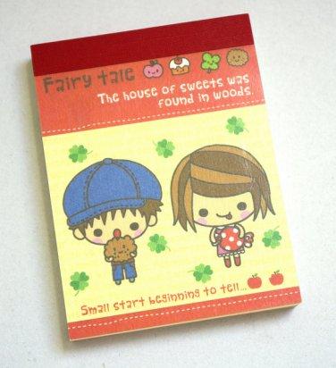Q-lia Fairy Tale Kawaii Kids Mini Memo Pad