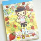 Crux Cute Power Anime Kawaii Girl Mini Memo Pad