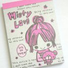 Crux Misty Love Kawaii Girl Mini Memo Pad