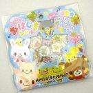 Q-lia Hello Friend Sticker Sack, kawaii