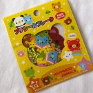 Kamio Happiness Animals Sticker Sack, kawaii