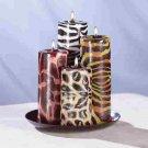 Safari Candle Set