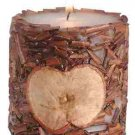 Scented Candle - Apple & Wood Pieces