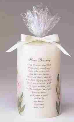 "Bless Our Home"" Candle"