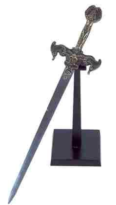Magical Sword On Stand