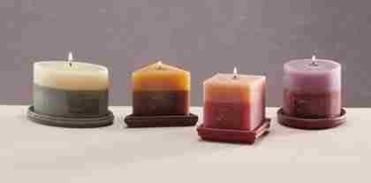 4-piece Assorted Scented Designer Candle Set