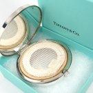 RARE Vintage Tiffany & Co Sterling Silver Purse Compact Mirror w/box